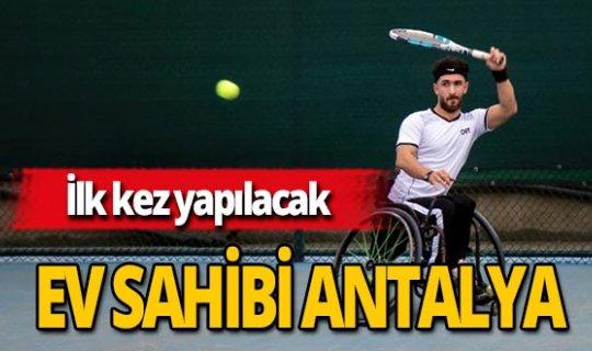 Antalya haber: Tenis turnuvası Antalya'da yapılacak