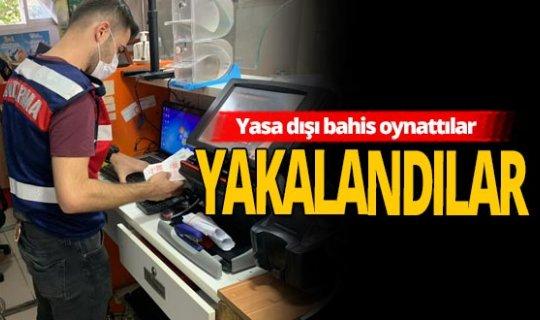 Antalya haber: Yasa dışı bahis operasyonu