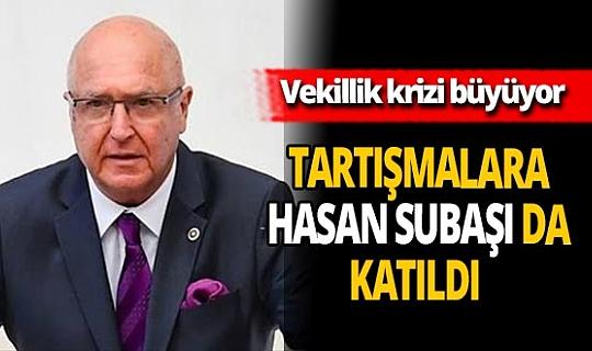Son dakika haber... Antalya Büyükşehir Belediyesi'ndeki vekillik tartışmalarına İYİ Parti Antalya Milletvekili Hasan Subaşı da katıldı