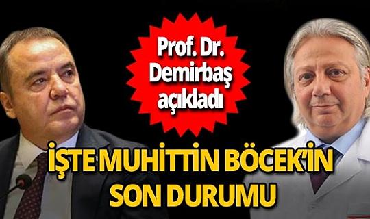 Antalya son dakika...Prof. Dr. Alper Demirbaş'tan Muhittin Böcek açıklaması