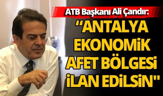 Antalya Ticaret Borsası  kurdaki artıştan endişeli!