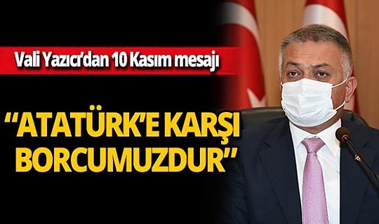 """Antalya Valisi Ersin Yazıcı: """"Muasır medeniyetleri yakalamak omuzlarımızdaki milli sorumluluktur"""""""