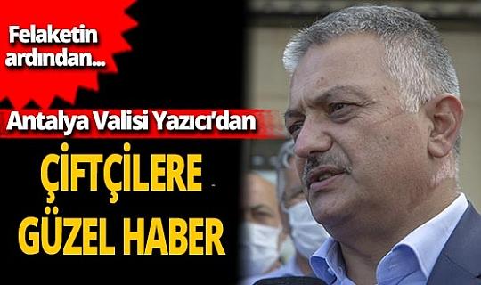 Antalya Valisi Ersin Yazıcı: