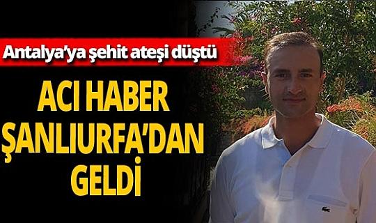 Antalyalı Jandarma Yüzbaşı Yasin Kurt şehit oldu