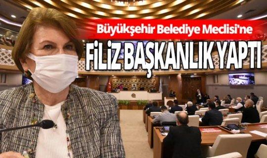 AntalyaBüyükşehir Belediye Meclisi'ne Aralık ayı toplantısı yapıldı