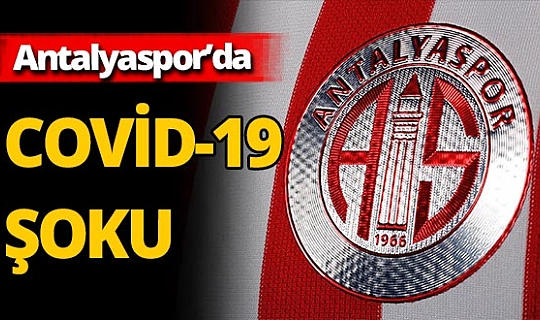 Antalyaspor'da 4 pozitif vaka