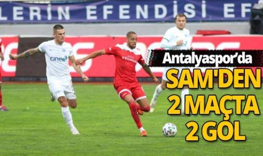 Antalyaspor'da Sam boş geçmedi!