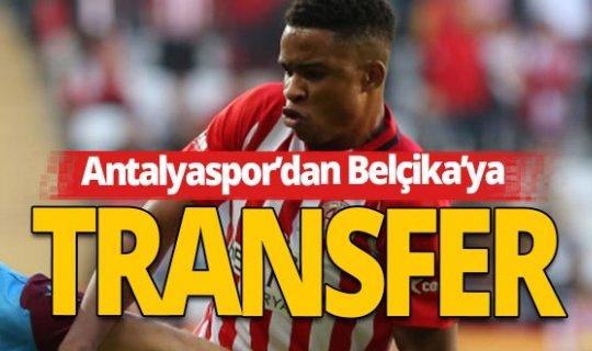 Antalyaspor'dan Belçika'ya transfer