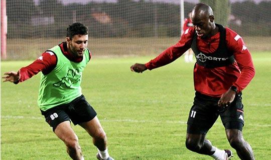 Antalyaspor Fenerbahçe hazırlıklarına devam ediyor
