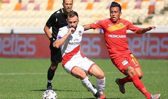 Antalyaspor'un yenilmezlik serisi son buldu