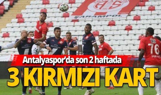 Antalyaspor son 2 haftada kızardı