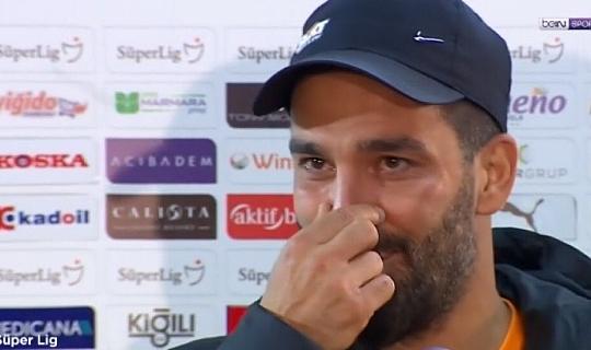 Arda Turan maç sonrasında neden ağladı?