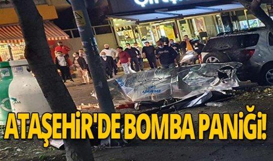 Ataşehir'de bomba paniği!