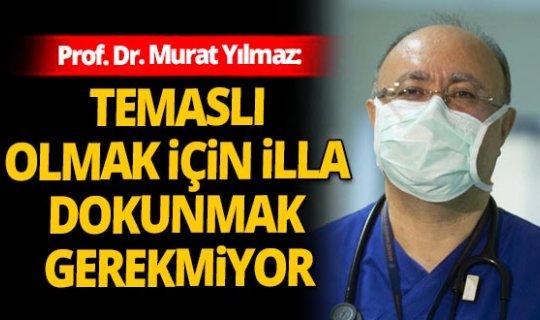 AÜ yoğun bakım servisi sorumlusu Prof. Dr. Murat Yılmaz'dan dikkat çeken uyarı!