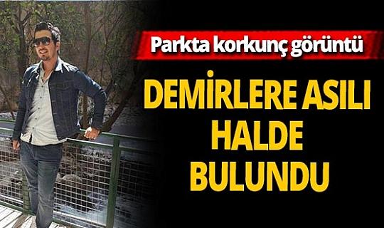 Aydın'da bir parkta demirlere asılı ceset bulundu