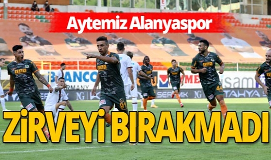 Aytemiz Alanyaspor - Fatih Karagümrük maçı sona erdi