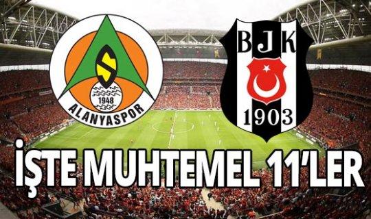 Aytemiz Alanyaspor, Beşiktaş maçı saat kaçta, hangi kanalda yayınlanacak?