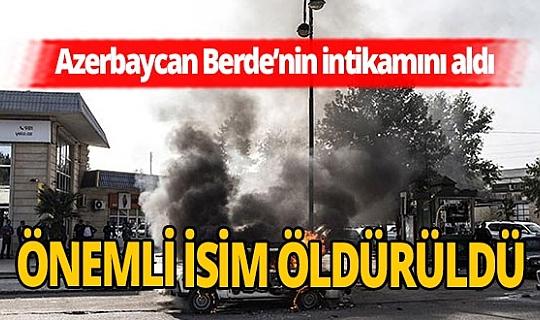 """Azerbaycan: """"Ermenistan'ın 1. Ordu komutan yardımcısı öldürüldü"""""""