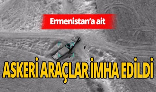 Azerbaycan Savunma Bakanlığı duyurdu: Ermenistan'ın askeri araçları imha edildi