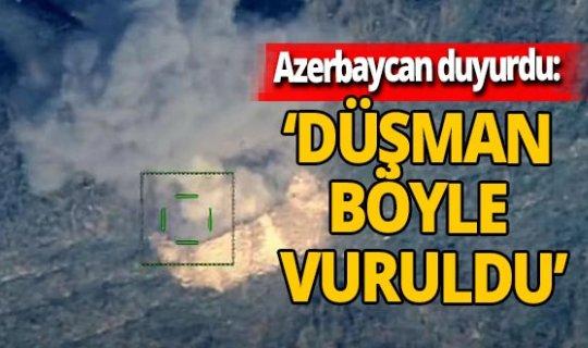 Azerbaycan Savunma Bakanlığı duyurdu: 'Sivillere saldıran düşman böyle vuruldu'
