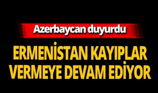 """Azerbaycan Savunma Bakanlığı: """"Ermenistan sivilleri hedef almayı sürdürüyor"""""""