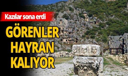 Aziz Nikolaos Anıt Müzesi'nde kazılar sona erdi