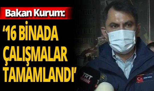 Bakan Kurum duyurdu: 'Arama kurtarma faaliyetleri bitecek'