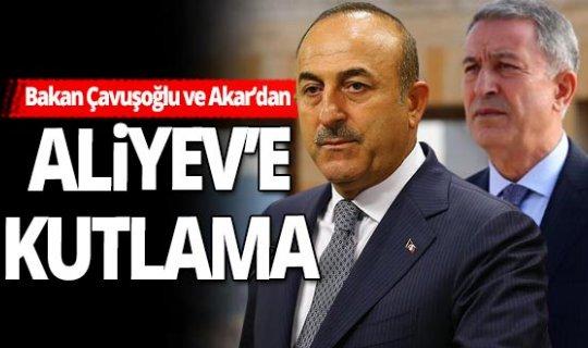 Bakan Mevlüt Çavuşoğlu ve Hulusi Akar Azerbaycan'a gitti