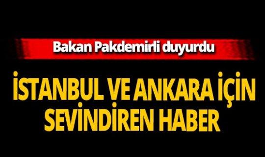 """Bakan Pakdemirli: """"İstanbul ve Ankara'da su sıkıntısı beklemiyoruz"""""""