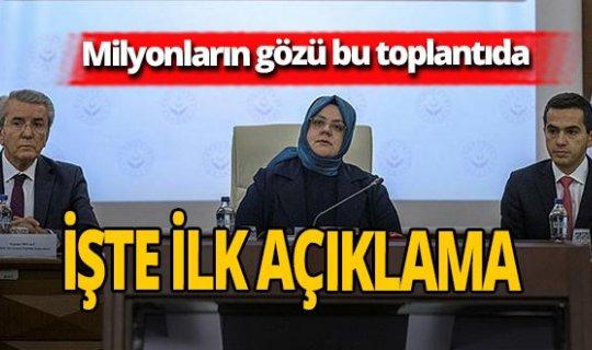 Bakan Zehra Zümrüt Selçuk'tan asgari ücret ile ilgili  ilk açıklama