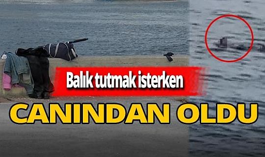 Bakırköy'de denize düşen adam boğuldu