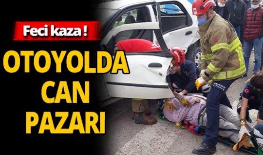Bandırma'da feci kaza! 1 ölü