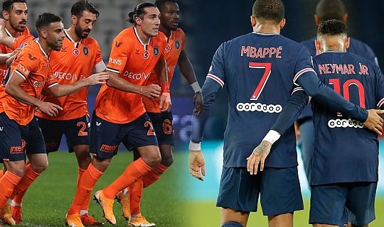 Başakşehir-Paris Saint Germain maçında ilk 11'ler belli oldu