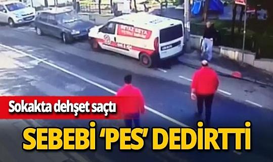 Bayrampaşa'da buzdolabı tamiratını beğenmedi, çalışanları tüfekle tehdit etti
