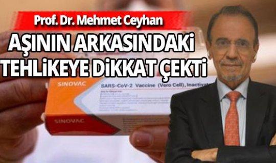 Bilim Dalı Başkanı Prof. Dr. Mehmet Ceyhan'dan dikkat çeken uyarı!