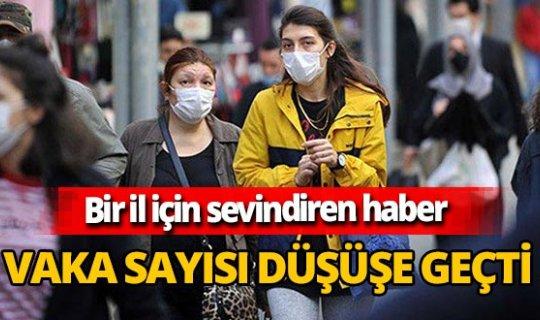 Edirne'den sevindiren haber! Vaka sayısı düşüşe geçti