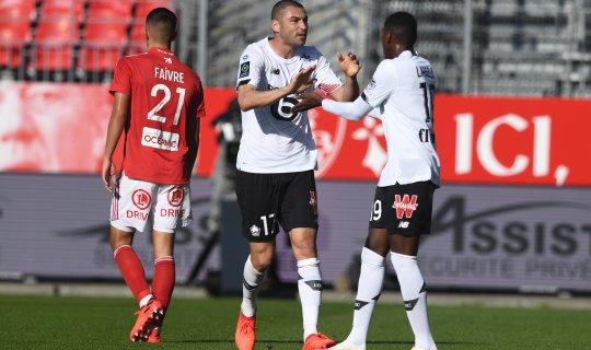 Burak Yılmaz'ın golleri Lille'e yetmedi