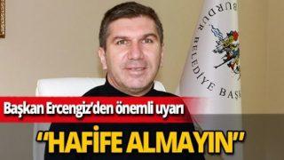 Burdur Belediye Başkanı Ali Orkun Ercengiz: