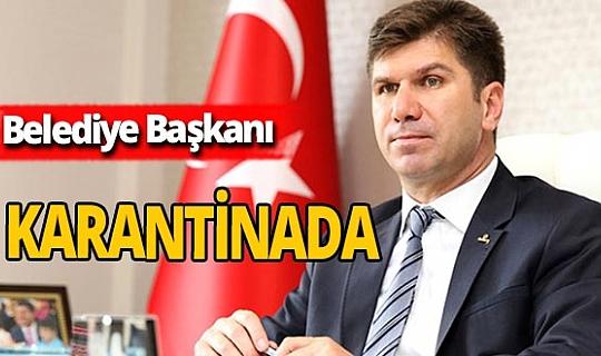 Burdur Belediye Başkanı Ali Orkun Ercengiz karantinada