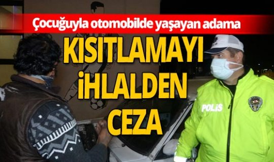 Bursa'da denetlemede dram ortaya çıktı