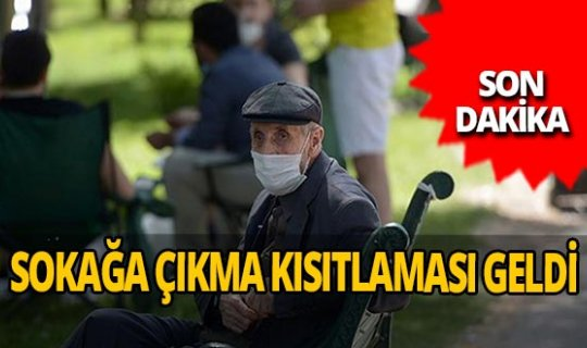 Son dakika...Bursa'da yeni koronavirüs kararı: 65 yaş üstüne sokağa çıkma kısıtlaması getirildi