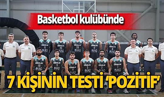 Bursa Gemlik Basketbol'da 7 kişi koronavirüse yakalandı