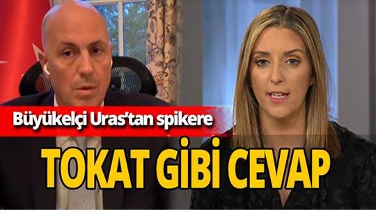 Büyükelçi Kerim Uras'ın cevabı spikere geri adım attırdı