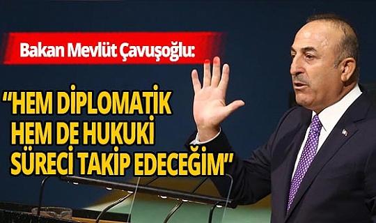 Skandal karikatüreDışişleri Bakanı Mevlüt Çavuşoğlu'ndan sert açıklama!