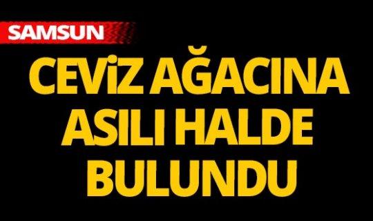 Samsun'da kahreden olay!