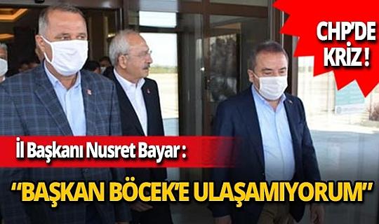 """CHP İl Başkanı Nusret Bayar'dan Muhittin Böcek'in aldığı karara tepki: """"Şık olmamıştır"""""""