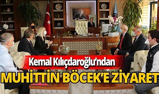 CHP Lideri Kemal Kılıçdaroğlu Başkan Böcek'i ziyaret etti