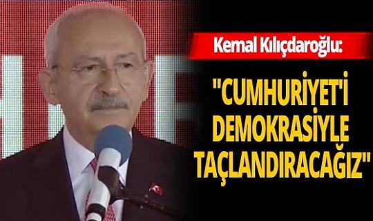 CHP Lideri Kemal Kılıçdaroğlu'ndan '29 Ekim' mesajı