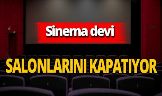 Cineworld sinemalarını kapatıyor