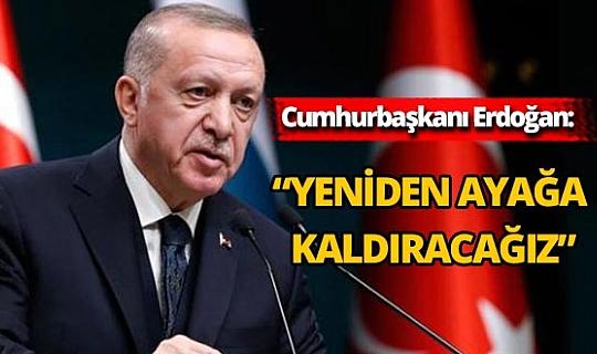Cumhurbaşkanı Erdoğan'dan küle dönen Vaniköy Camii'ne ilişkin açıklama
